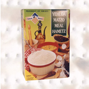 Yehuda Matzos flour 500g. Hamets (Not for passover) Matzo products Under the supervision of the Jerusalem Chief Rabbinate and the Orthodox Jerusalem Community Badatz.