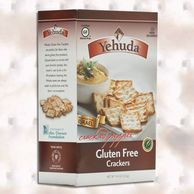 Yehuda Gluten Free Cracked Pepper Crackers